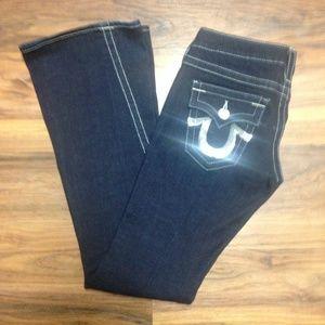 True Religion Silver Tab Joey Jeans Size 26